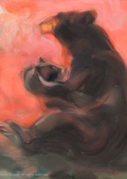 2014: Bear, part two — paintings