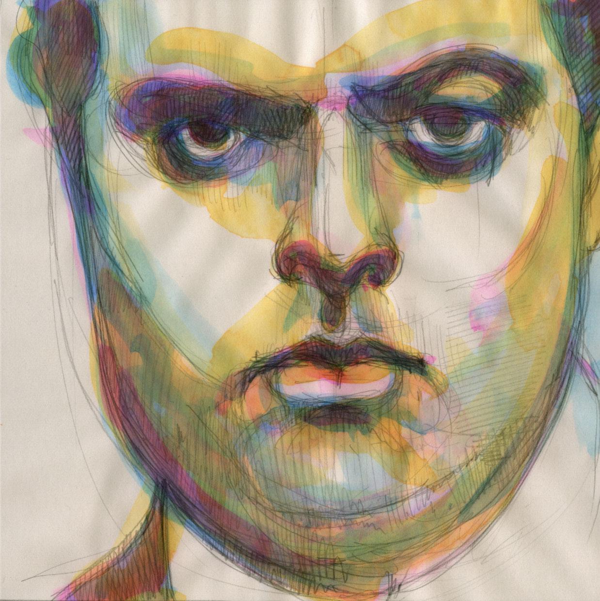Orson Welles: His Pale Pudding Face